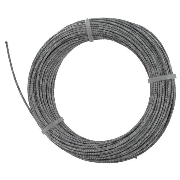 """Baron 50067 100' 1/16"""" 7x7 Galvanized Pre-Cut Cable"""