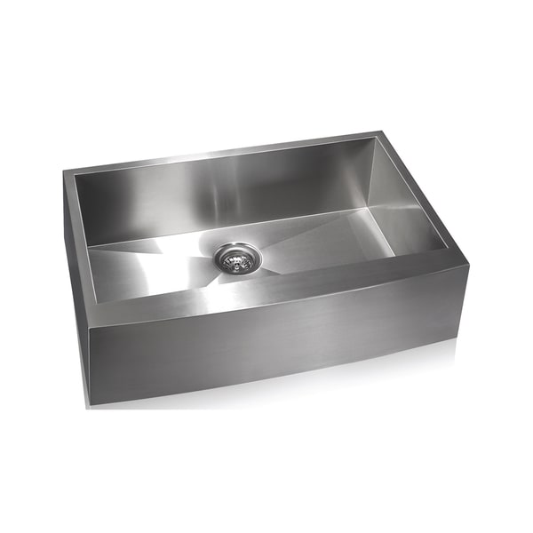 Zero Radius Farmhouse Stainless Steel Sink