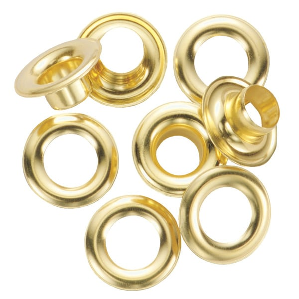 General 1261-4 #4 Brass Grommet Refills 12-ct