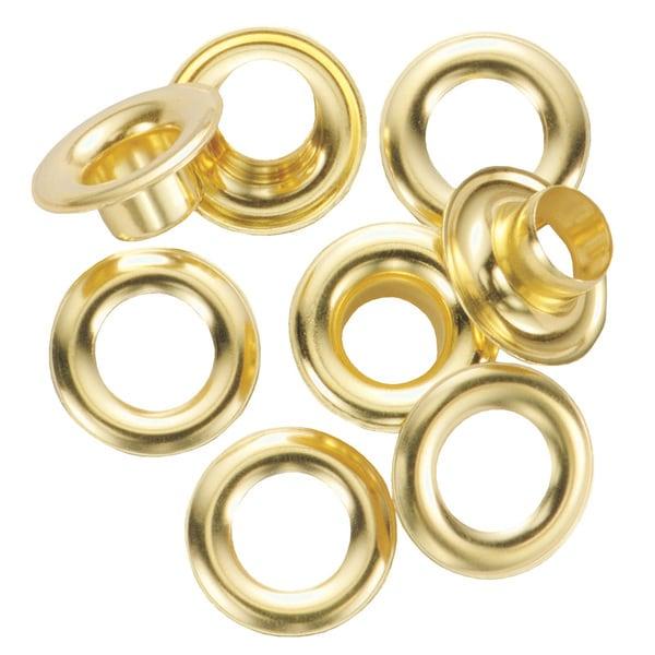 General 1261-4 #4 Brass Grommet Refills 12-ct