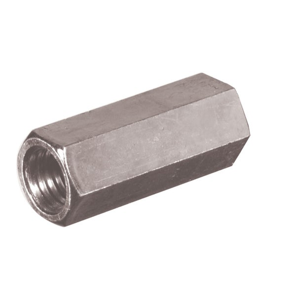"Boltmaster 11845 3/8"" Right Hand Threaded Rod Zinc Plated Steel Coupler Nuts"