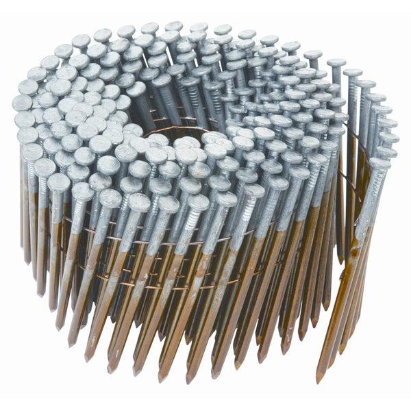 "Hitachi 12211 2-3/8"" X .113"" Round Head Ring Shank Framing Nails"
