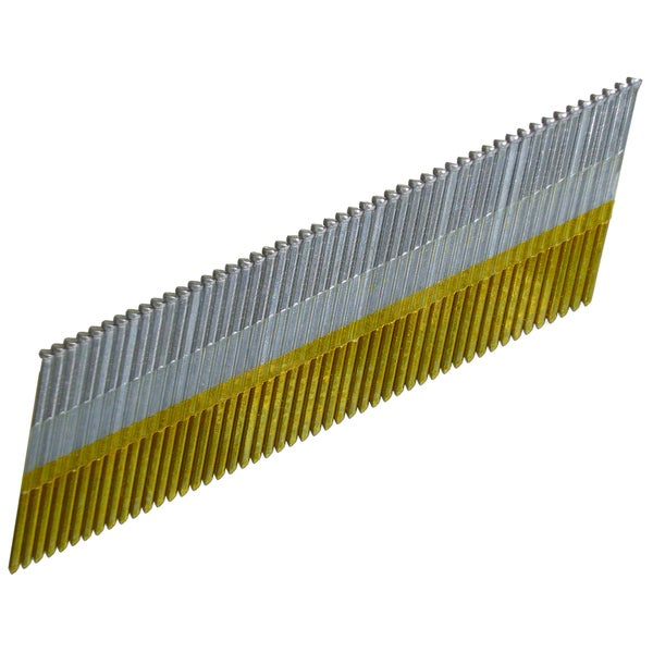 "Hitachi 24202S 1-1/2"" 15 Gauge Electro Galvanized Angled Finish Nails"