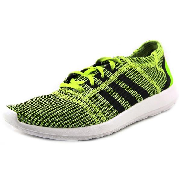 Adidas Men's 'Element Refine Tricot M' Green Basic Textile Athletic Shoes