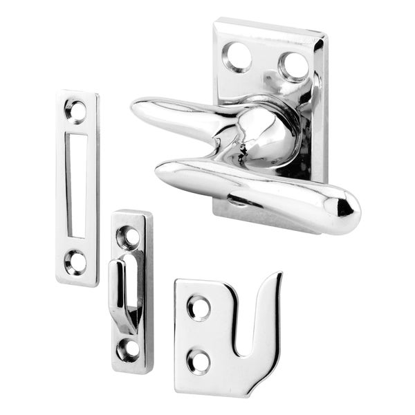 "Prime Line H3684 1-7/8"" Chrome Casement Sash Lock"