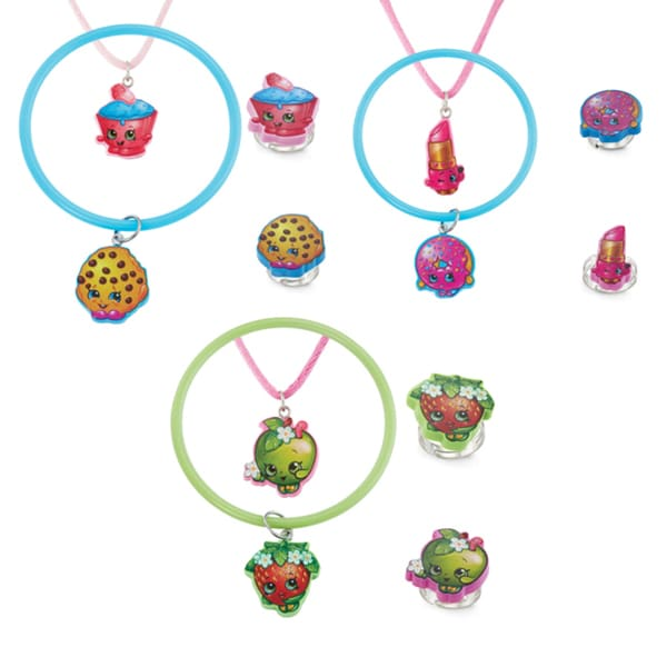 Shopkins 4-piece Jewelry Set
