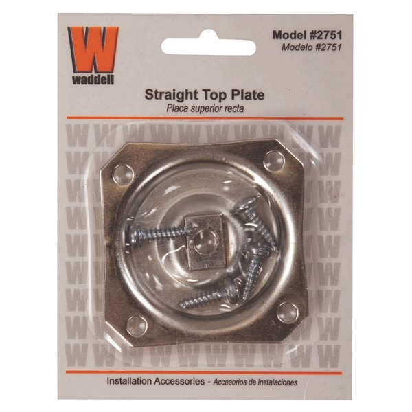 Waddell 2751 Straight Top Leg Plate