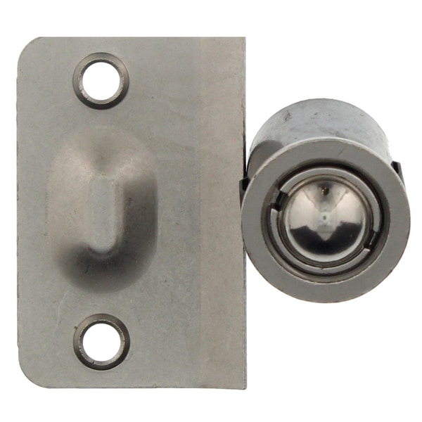 "Ultra Hardware 61761 7/8"" Satin Nickel Closet Door Drive-In Bullet Ball Catch"