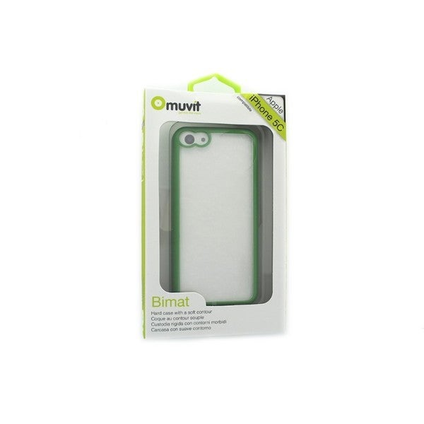 Muvit Bimat Green Hard Case for Apple iPhone 5C