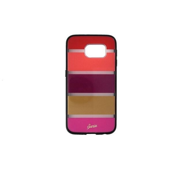 Case Mate Sonix Clear Coat Fuschia Strip Case for Samsung Galaxy S6