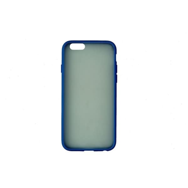 Insignia Blue Polycarbonate Soft Shell Case for Apple iPhone 6/6S