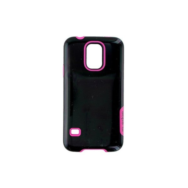 Case Mate M-Edge Echo Black and Pink Dual Layer Case for Samsung Galaxy S5