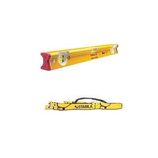 "Stabila 41024 24"" Type 300 R-Beam Level with 30015 Torpedo Level"