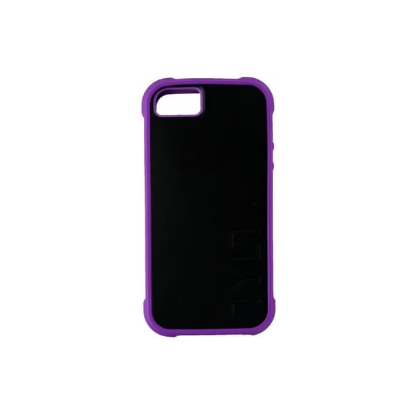 Case Mate Tylt Bumpr Black and Purple Case for Apple iPhone 5/5S/SE