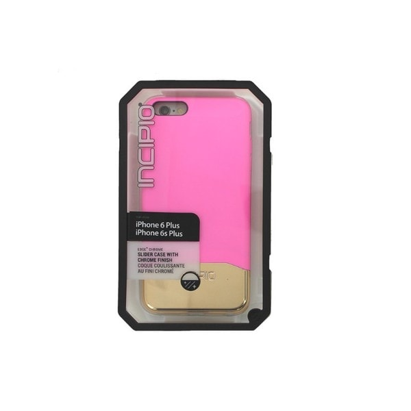 Trident Incipio Edge Pink/Gold Chrome Slider Case for iPhone 6 Plus/6S