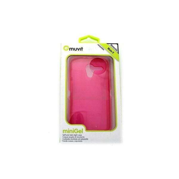 Muvit Motorola Moto X Pink miniGel Case