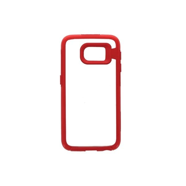 OtterBox Symmetry Clear/Red Case for Samsung Galaxy S6