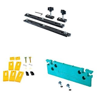 Micro Jig ZeroPlay Guide Bar System (Double Pack) with Accessory Bundle