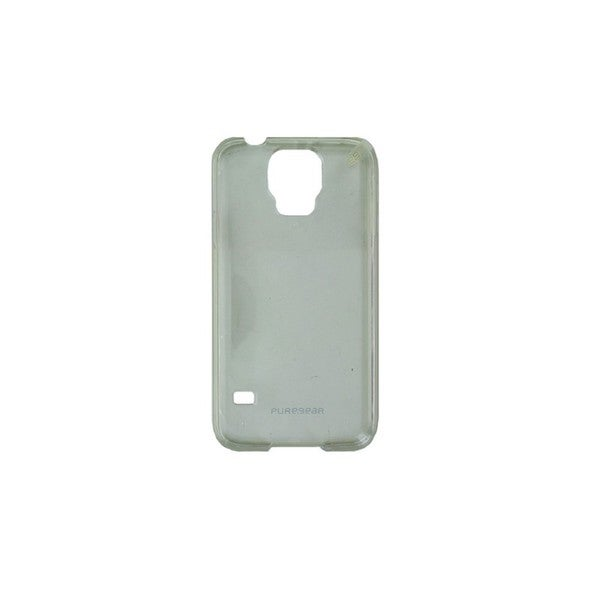 Case Mate Pure Gear Clear with White Trim Slim Shell Case for Samsung Galaxy S5