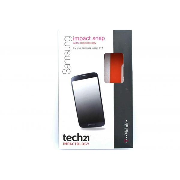 T-Mobile Tech21 White Samsung Galaxy S4 Impact Snap Case