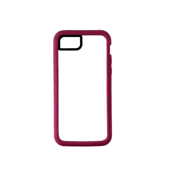 Basics Identity Pink and Clear 2-piece Case for Apple iPhone 5C