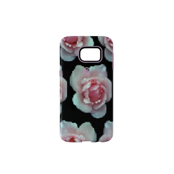 Case Mate Speck Candy Shell Pixel Rose Inked Case for Samsung Galaxy S6 Edge+