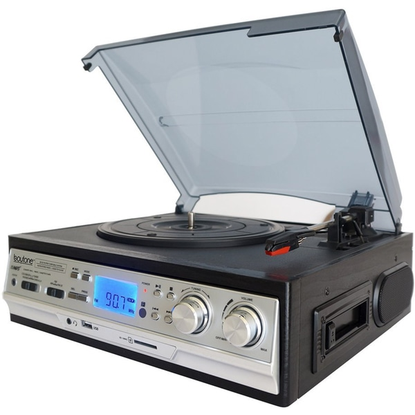 BT-17DJS-C 3-speed Stereo Turntable