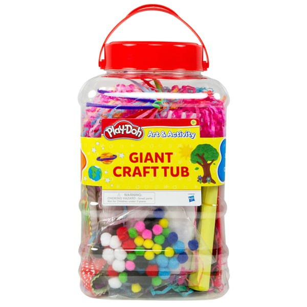 Play-Doh Art & Activity Giant Craft Tub