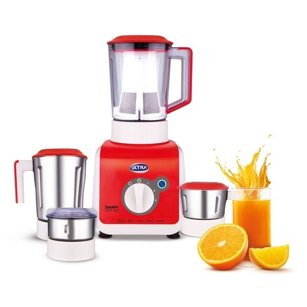 Ultra Stealth 750-Watt 4-Jar 110-volt Mixer Grinder
