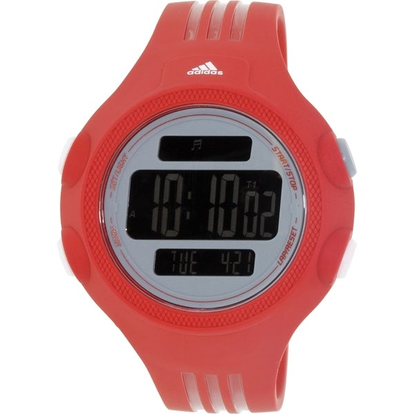 Adidas Men's Questra ADP3134 Red Rubber Quartz Watch