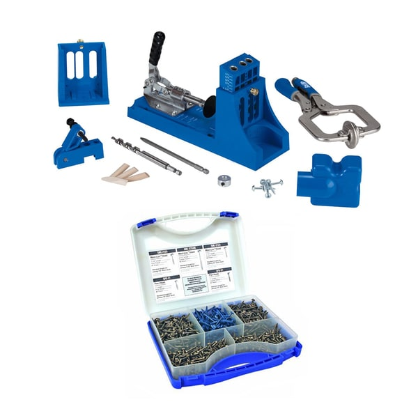 Kreg Jig Master System & Pocket-Hole Screw Kit in 5 Sizes
