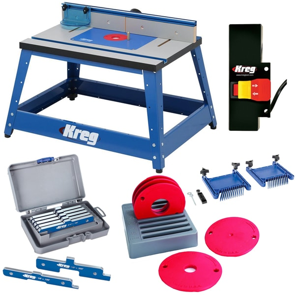 Kreg PRS2100 Bench Top Router Table w/ Essential Accessories