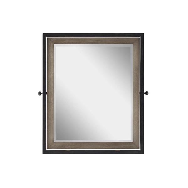 Universal Smartstuff Varsity Collection Grey Accent Mirror