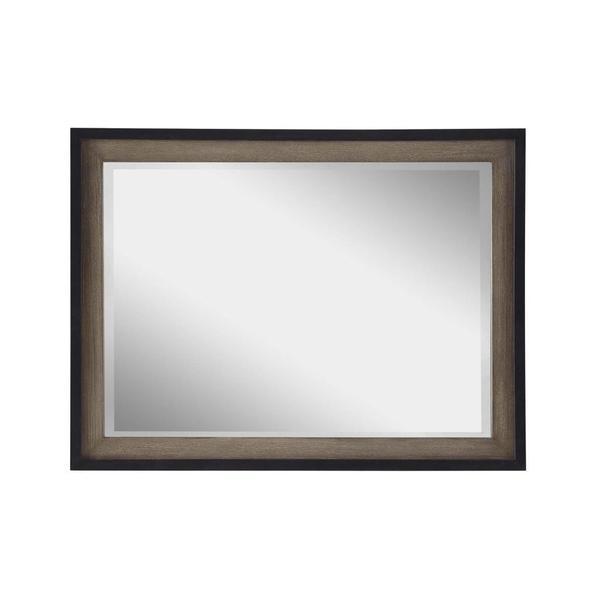 Universal Tilt Grey/Chalkboard Elm Mirror