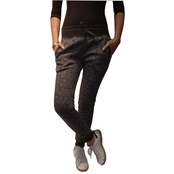 Riviera Black Fleece Active Jogger Pants