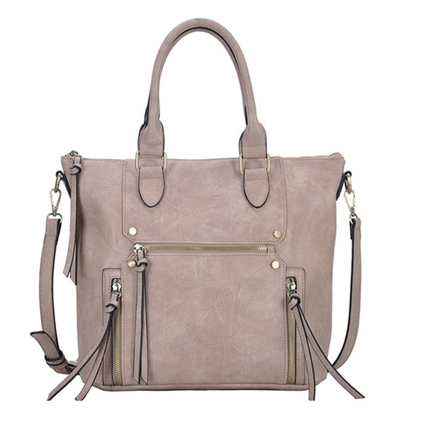 Madison West Shelby Faux Leather Shoulder Bag
