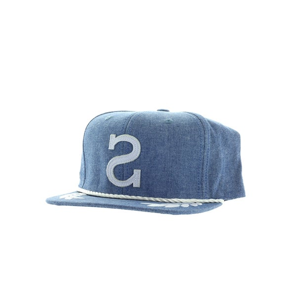 Society Men's Big S Indigo Chambray Hat
