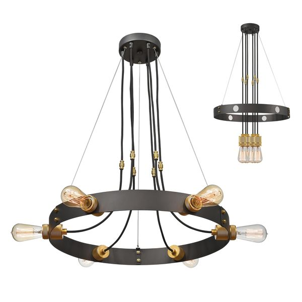 Troubadour 6 Light Chandelier