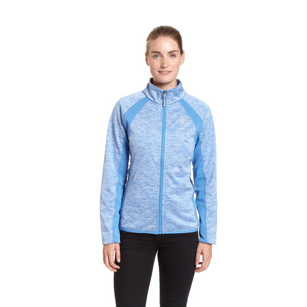 Champion Women's Polyester Mock-neck Bonded Softshell Jacket