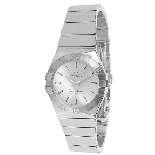 Pre-Owned Omega Constellation 123102760022002 Ladies Watch in Stainless Steel