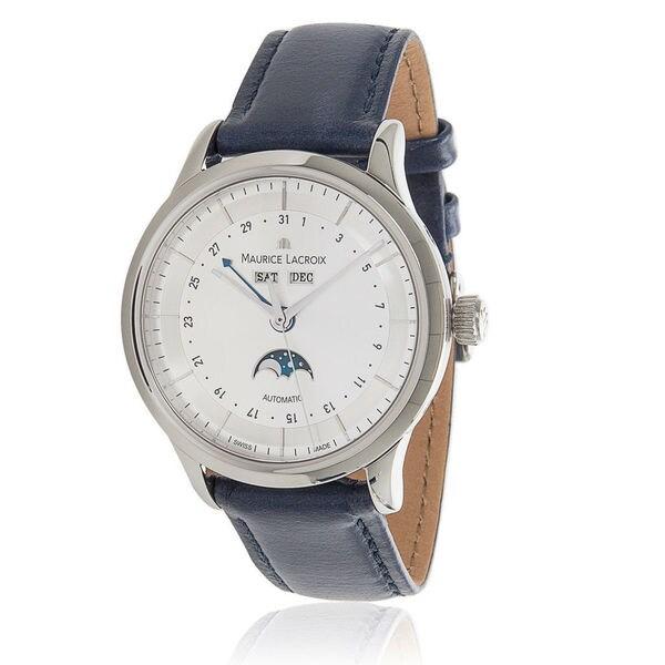 Pre-Owned Men's Maurice Lacroix Les Classiques Phase de Lune LC6068 Automatic Watch in Steel