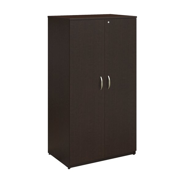 Series C Elite 36W Mocha Cherry Storage Wardrobe Tower