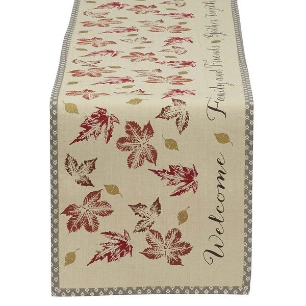 Gather Together Printed Table Runner