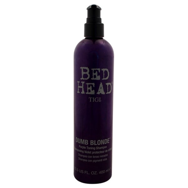 TIGI Bed Head Dumb Blonde 13.5-ounce Purple Toning Shampoo