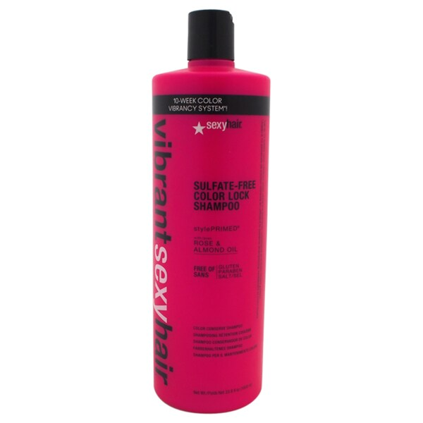 Sexy Hair 33.8-ounce Vibrant Sulfate-Free Color Lock Shampoo 20850859