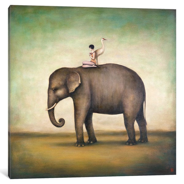 iCanvas Eternal Companions by Duy Huynh Canvas Print