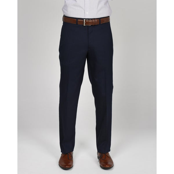 Kenneth Cole New York Navy Wool-blend Suit Separates Pant