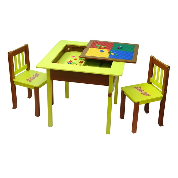 Scooby Doo Deluxe 4-in-1 Flip Top Table and Chairs Set
