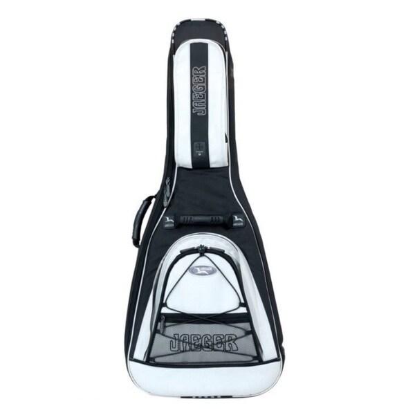 Gewa 218400 Jaeger White/Black Cordura Gig Bag for Electric Guitar