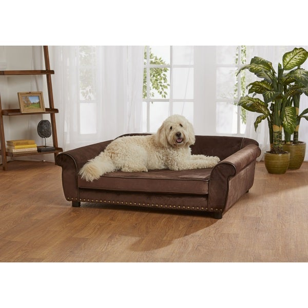 Enchanted Home Pet Outlaw Ultra-plush Pet Sofa